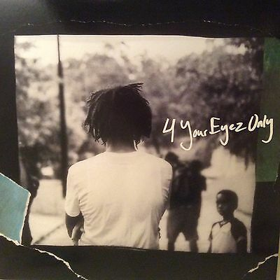 "J Cole "" 4 Your Eyez Only *** Coloured Vinyl *** New Rap Lp"