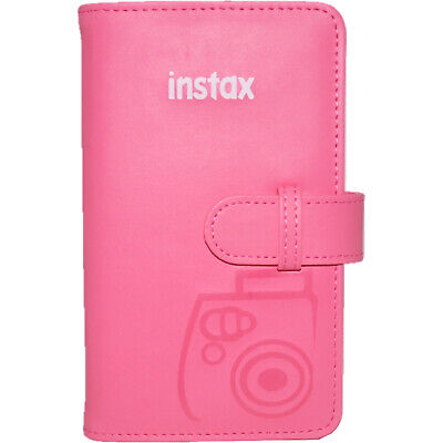 Fujifilm Instax Mini Wallet 108 Photo Album Flamingo Pink for 7S 8 9 25 50S 90