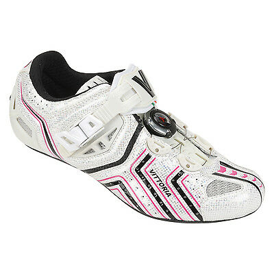 Vittoria hora 38 6.5 women's cycling road shoes carbon and micro cable closure