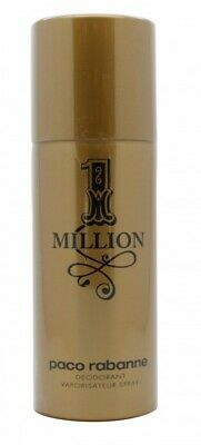 Paco Rabanne 1 Million Deodorant Spray - Men's For Him. New. Free Shipping
