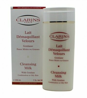 Clarins Cleansers And Toners Cleansing Milk With Gentian - Combination/oily Skin