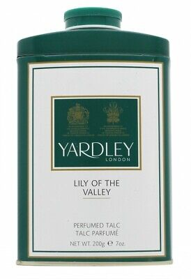 Yardley Lily Of The Valley Perfumed Talc - Women's For Her. New. Free Shipping