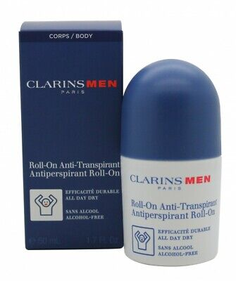Clarins Men Antiperspirant Deo Roll-On - Men's For Him. New. Free Shipping