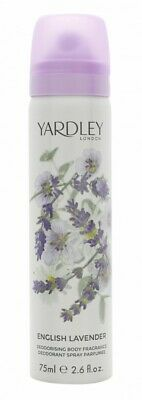 Yardley English Lavender Body Spray - Women's For Her. New. Free Shipping