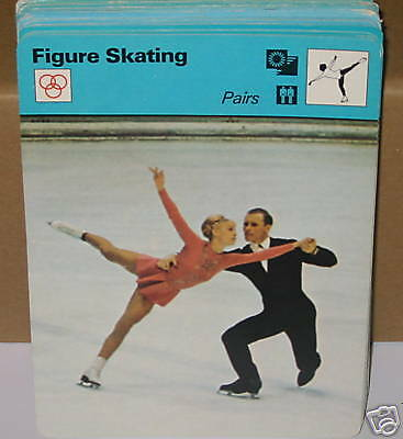 PAIRS figure skating Beloussova Protopop Collector card