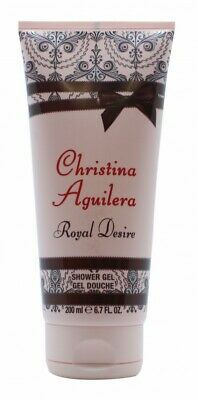 Christina Aguilera Royal Desire Shower Gel - Women's For Her. New