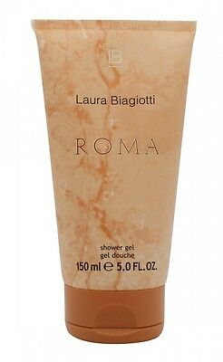 Laura Biagiotti Roma Shower Gel - Women's For Her. New. Free Shipping