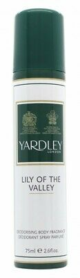Yardley Lily Of The Valley Body Spray - Women's For Her. New. Free Shipping