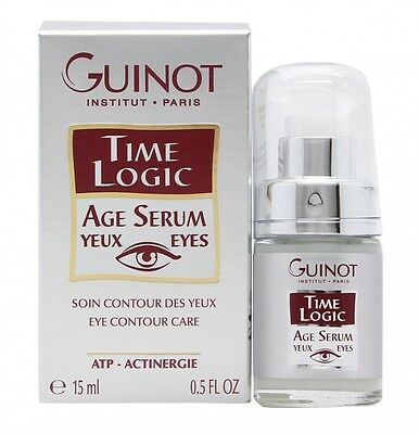 Guinot Time Logic Age Serum Yeux For Eyes - Women's For Her. New. Free Shipping