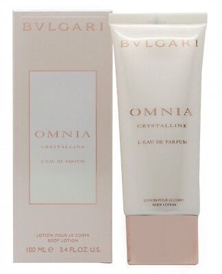 Bulgari Omnia Crystalline L'eau De Parfum Body Lotion - Women's For Her. New