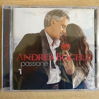 NEW SEALED - ANDREA BOCELLI - PASSIONE - Classical Opera Tenor Music CD Album