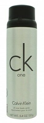 Calvin Klein Ck One Body Spray. New. Free Shipping