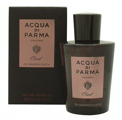 Acqua Di Parma Oud Shower Gel - Men's For Him. New. Free Shipping