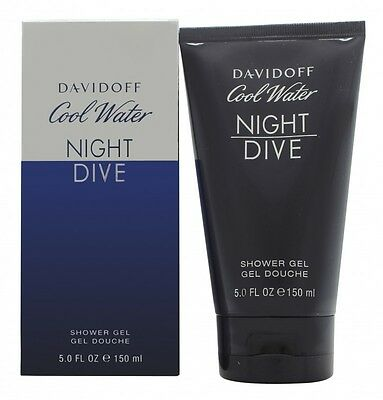 Davidoff Cool Water Night Dive Shower Gel - Men's For Him. New. Free Shipping