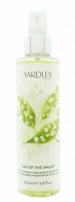 Yardley Lily Of The Valley Fragrance Mist - Women's For Her. New. Free Shipping