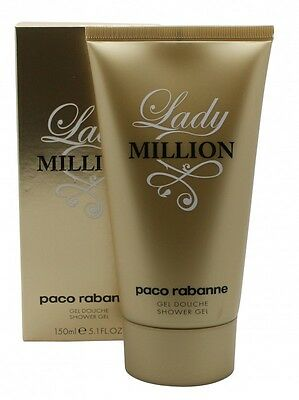 Paco Rabanne Lady Million Shower Gel - Women's For Her. New. Free Shipping