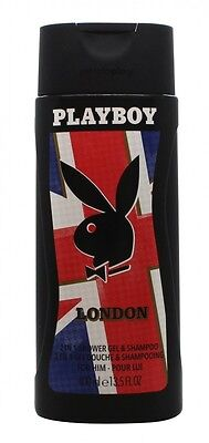 Playboy London Shower Gel  - Men's For Him. New. Free Shipping