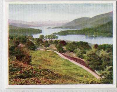 coniston lake from the beacon crags lakeland photocard