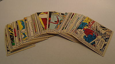 1966 Donruss Marvel Super Heroes Complete Set 66 Cards