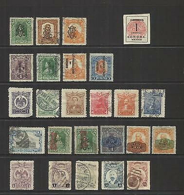 Mexico ~ 1914-17 Revolutionary Constitutionist Issues (Part Sets)
