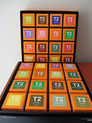 T2 - TOPS & GARDEN PARTY - 32 Boxes of Loose Leaf Tea - Huge Variety BRAND NEW