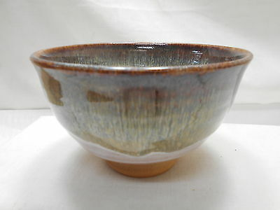 Japanese Tea Ceremony Pottery Bowl Chanoyu Traditional Vintage  #108