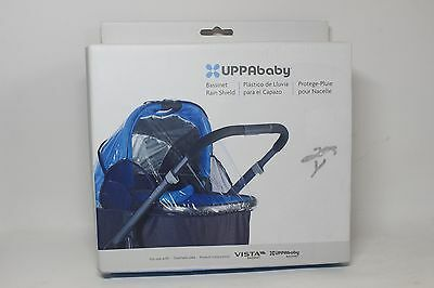 NEW UPPAbaby Infant Bassinet Rain Shield Cover - Clear - for Vista Model