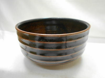 Japanese Tea Ceremony Pottery Bowl Chanoyu Traditional Vintage  #125