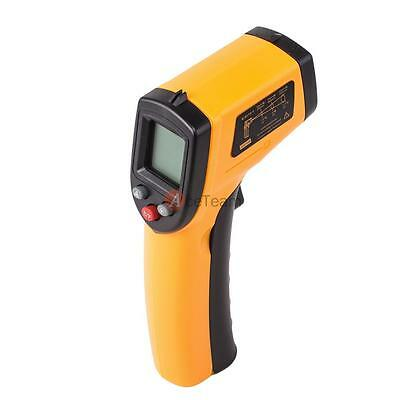 LCD Temp Meter Temperature Gun Non-contact Digital Laser Infrared IR Thermometer