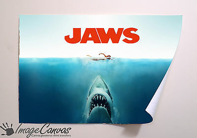 Jaws Movie/film Giant Wall Art Poster A0 A1 A2