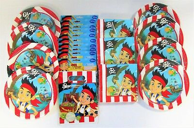 Jake and the Never land Pirates Party Pack for 60 Party Pirate Tableware