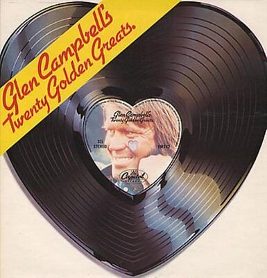 GLEN CAMPBELL 20 GOLDEN GREATS CD (Greatest Hits / Very Best Of)