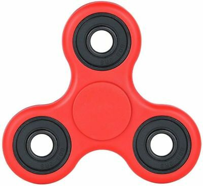 Fidget Spinner Toy Spinner Autism ADHD Funny Stress Relief Pocket Toy Red