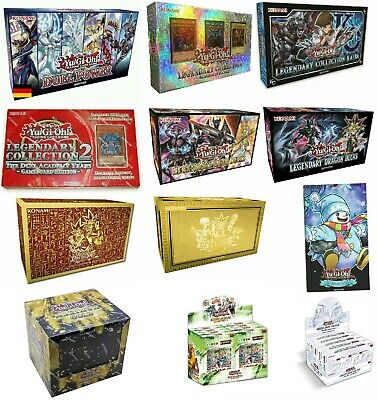 YuGiOh! Sonder Collections: Legendary Decks, Premium Gold, Adventskalender Kaiba
