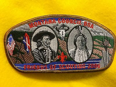 Boy Scouts-  2006 Montana Council Friends of Scouting csp - gold trim
