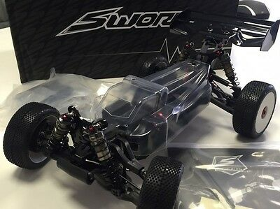 SWORKz S350 BE1 EVO II 1/8 Brushless Offroad Buggy 70% vormontiert SW-910023A