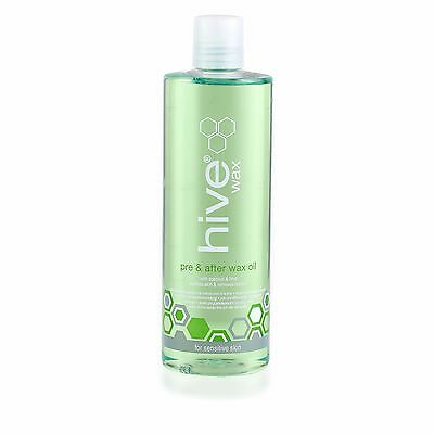 THE HIVE Pre & after Wax Oil with Coconout & Lime oil 400ml