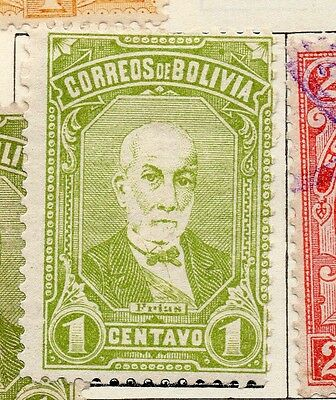 Bolivia 1897 Early Issue Fine Mint Hinged 1c. 157624