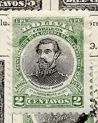 Bolivia 1909 Early Issue Fine Mint Hinged 2c. 157636