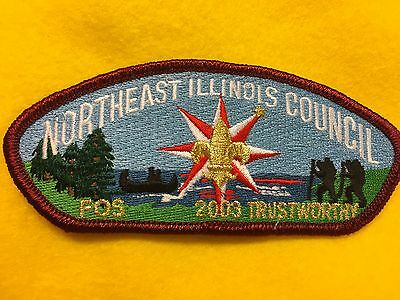 Boy Scouts-   2003 Northeast Illinois Council FOS csp - Trustworthy
