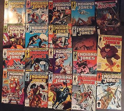 The Further Adventures Of Indiana Jones # 1 complete through 16..lot 19 comics