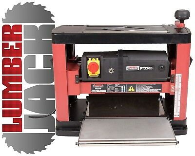 Lumberjack PT330B Portable Bench top Planer Thicknesser with Blades x 240v 330mm