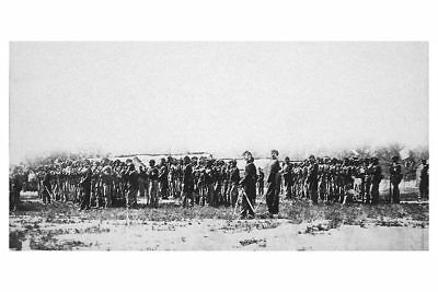 Civil War African American Colored Infantry 12x18 Silver Halide Photo Print