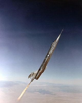F-104 with Rocket Assist Flown  by Chuck Yeager 8x10 Silver Halide Photo Print