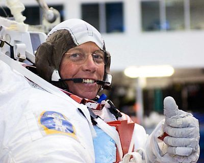 NASA Astronaut Michael E. Fossum of Discovery 11x14 Silver Halide Photo Print