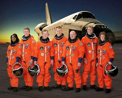NASA STS-121 Shuttle Discovery Crew Portrait 11x14 Silver Halide Photo Print