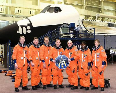 STS-121 Shuttle Discovery Crew Portrait 11x14 Silver Halide Photo Print