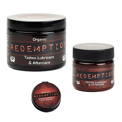 Redemption Organic Tattoo Aftercare Natural Tattoo Ointment