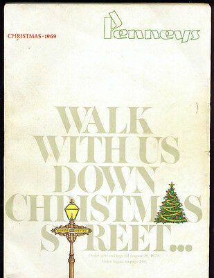 1969JC PENNEY CHRISTMAS CATALOG WISHBOOK GREAT 60s -  PENNEYS