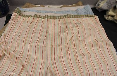 Vintage Lot Mens Printed Boxer Shorts  Open Fly 1970s Wards 38-40 NOS 4 PR